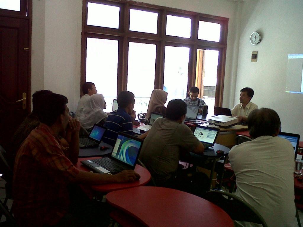 Belajar Bisnis Online di RWP Pusat