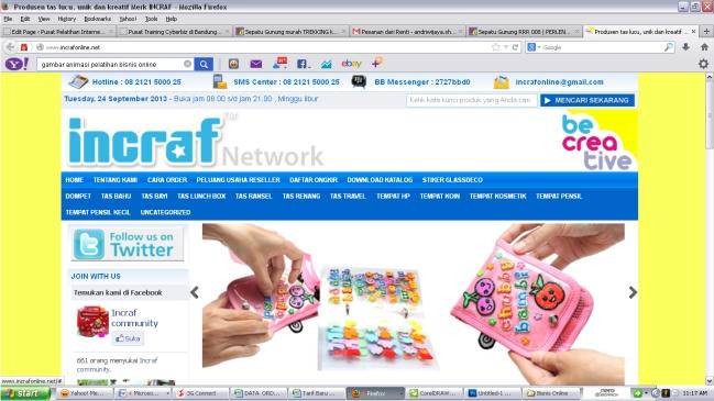 Kursus Membuat Website toko Online di Bandung