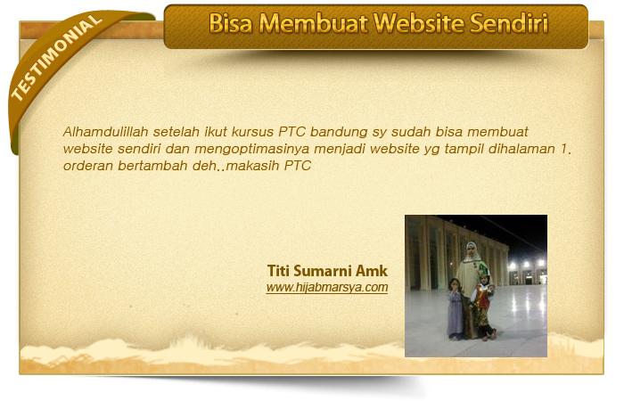 Kursus Toko Online Privat Bisnis Online di Bandung untuk pemula murah